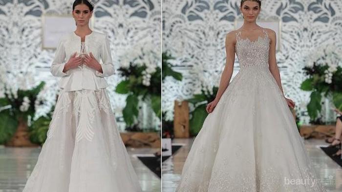 Bisa Jadi Pilihan, Inilah Gaun Pengantin Putih yang Anggun Karya Desainer Lokal Ternama