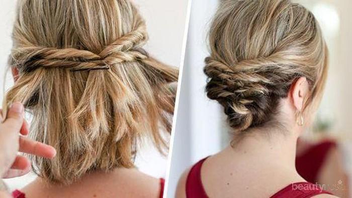 Psst, Ini Tutorial Hairdo Simple Wisuda Khusus untuk Kamu Si Pemilik Rambut Pendek yang Imut