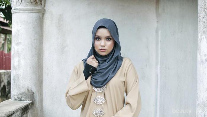 Tips Memilih Gaun Hijab Pesta yang Cocok untuk Tubuh Gemuk