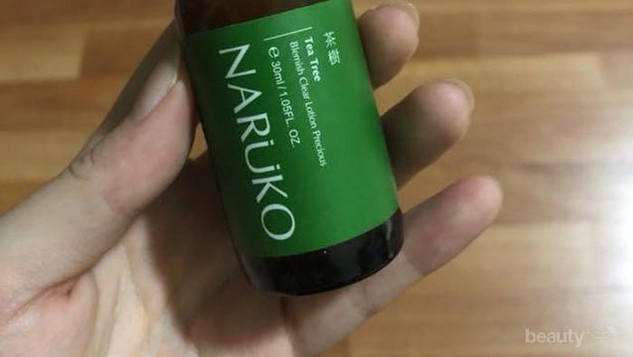 Review Naruko Tea Tree Blemish Clear Lotion Precious: Hilangkan Jerawat Hingga Bekasnya Sekaligus