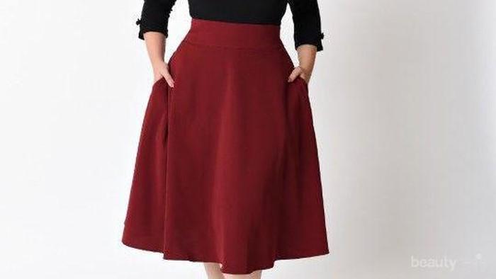 Ladies, Begini Cara Pakai Rok yang Tepat untuk Samarkan Tubuh Gemuk dan Beri Ilusi Langsing