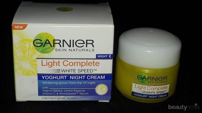 [FORUM] Ada yang pakai Garnier Night Cream Yoghurt, Berpengaruh apa di wajah kamu?