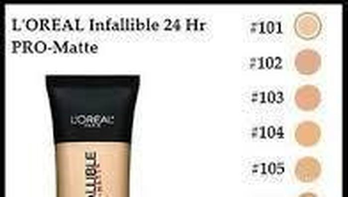 #FORUM Shade Loreal Infallible Pro Matte Foundation yang pas untuk kulit kuning langsat