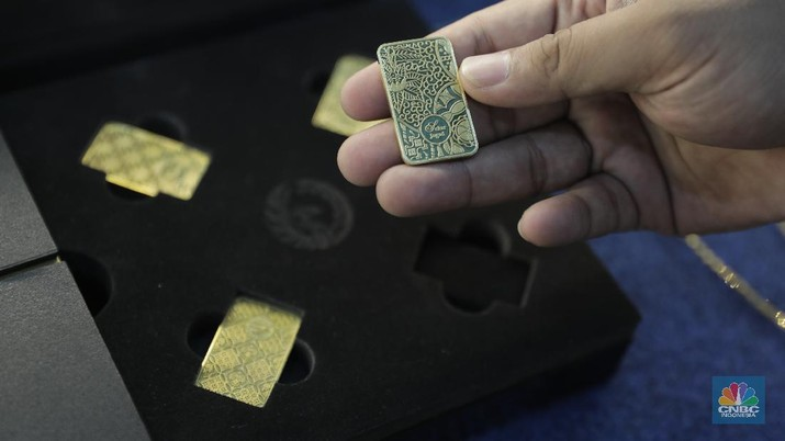 Lega deh! Harga Emas Antam Naik Lagi Rp 7.000/gram
