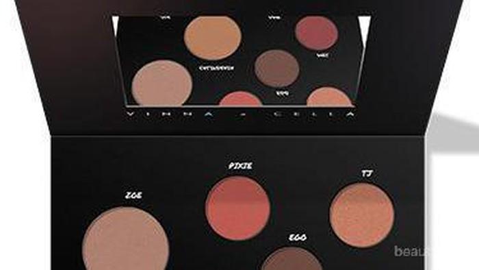 Face and Complexion Palette Hasil Kolaborasi Beauty Influencer Lokal: Minuet Palette by Vinna Gracia dan Cindercella