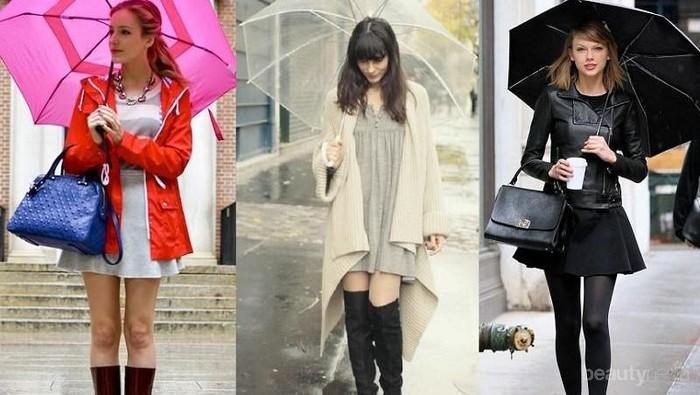 7 Fashion Item Ini Akan Membuat Kamu Tetap Tampil Paling Stylish Meski Musim Hujan