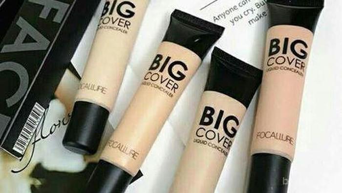 Mau concealer Bagus dengan Harga Terjangkau? Yuk Coba Focallure Big Cover Liquid Concealer!