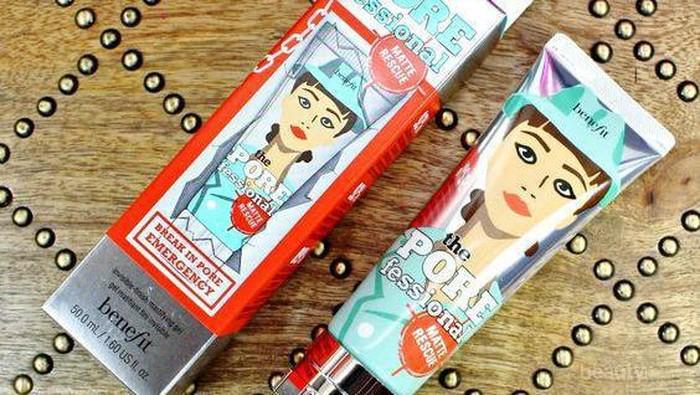 Ingin Makeup Tahan Tapi Kulit Berminyak? Pakai Benefit the POREfessional Matte Rescue Invisible Finish Mattifying Gel