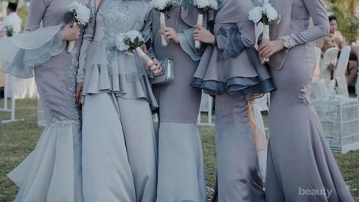 Jangan Bingung Saat Mau Ke Pesta, Ini Gaun Model Kekinian yang Cocok Dipakai Para Hijabers