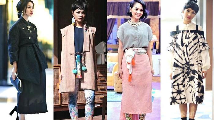 Gaya Fashion Para Selebriti Indonesia yang Fashionable Ini Banyak Dijadikan Inspirasi Netizen