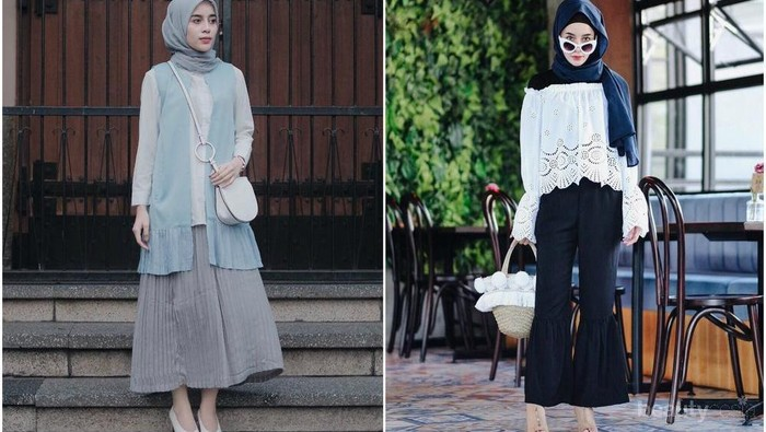 Ini Dia Inspirasi Fashion untuk Hijabers Bertubuh Kurus dari Aghnia Punjabi
