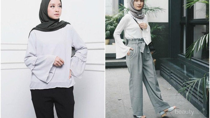 Yuk, Intip Padu Padan Flare Blouse Hijab Anti Mainstream Agar Kamu Makin Kekinian
