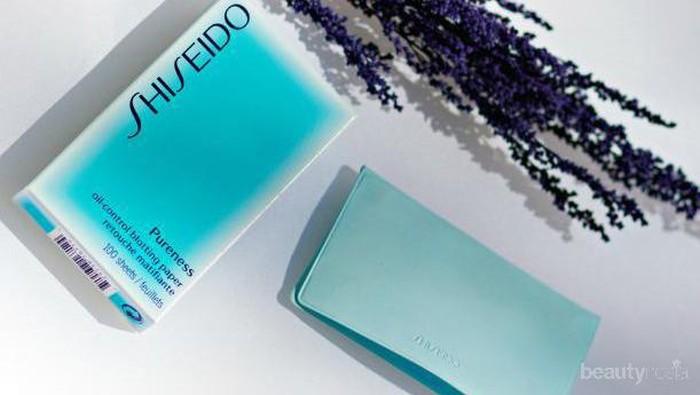 #NEWS Atasi Masalah Wajah Berminyak dengan Shiseido Pureness Oil-Control Blotting Paper