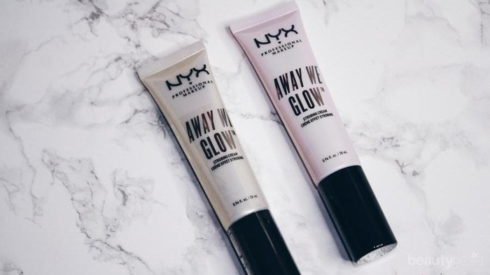 NYX Away We Glow Strobing Cream, Highlighter Multifungsi untuk Kulit Wajah yang Lebih Glowing!