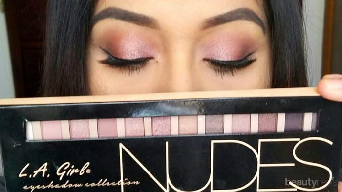 L.A. Girl Nudes Palette, Dupes Urban Decay Naked Palette Ini Cocok Banget untuk Pemula!