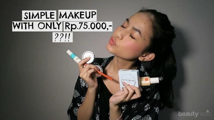 [FORUM] Mau Full Face Makeup Tapi Budget Cuma di Bawah Rp100 Ribu, Bisa Nggak?