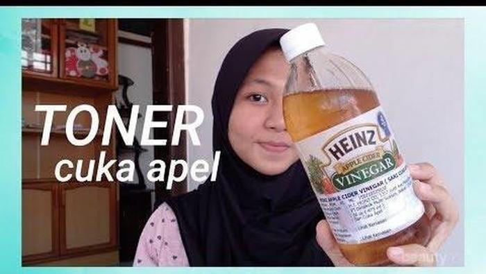 Cara Menggunakan Cuka Apel Untuk Jerawat Bruntusan