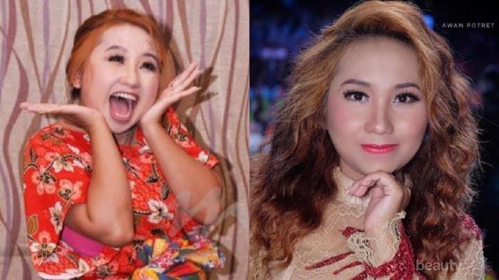 Wih! Begini Tampilan Upik Isil, Si Penyanyi 'Tak Tun Tuang' Kalau Pakai Makeup Kekinian!