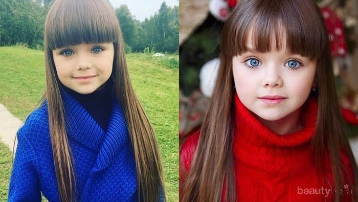 Kayak Boneka! Anak Kecil Asal Rusia Ini Disebut Sebagai Bocah Tercantik di Dunia Lho!
