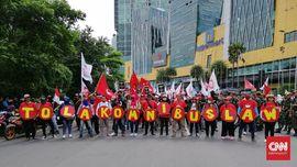 Sakit Hati Pekerja Lihat Pengesahan Omnibus Law Dikebut DPR