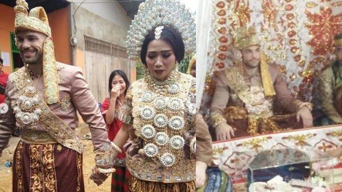 Begini Pernikahan Bule Amerika dan Wanita Bugis Asal Sulawesi yang Sempat Viral