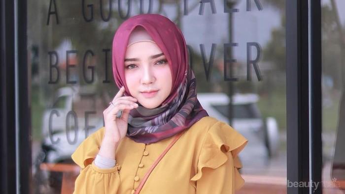 Intip Tutorial Hijab Cantik untuk Pemilik Pipi Chubby Ala Ayu Indriati