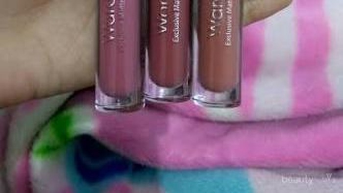 #FORUM Review Wardah Exclusive Matte Lip Cream (09-Mauve On) dong.....