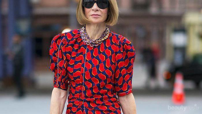 3 Dekade Pimpin Vogue, Cek Inspirasi Fashion ala Anna Wintour!