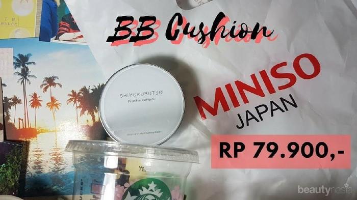 Review BB Cushion dari Miniso yang Murah Meriah Tapi Berkualitas, Apakah Sebagus Itu?