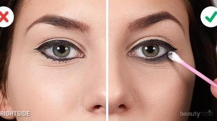 Anti Berantakan, Trik Ini Membuat Pemakaian Eyeliner di Waterline Mata Jadi Terasa Mudah, Mau Coba?