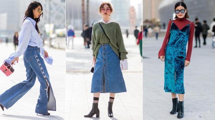 Modis dan Kekinian, Ini 5 Busana Terbaik dari Para Street Styler di Seoul Fashion Week 2018!