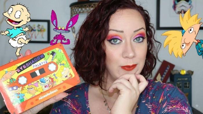 [Review] Siap-Siap, Nickelodeon Eyeshadow Palette Akan Bawa Kamu Kembali ke Tahun 90-an!