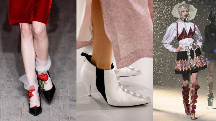 Mulai dari Wearable hingga Nyentrik, Intip Ragam Sepatu Runway Berikut Ini