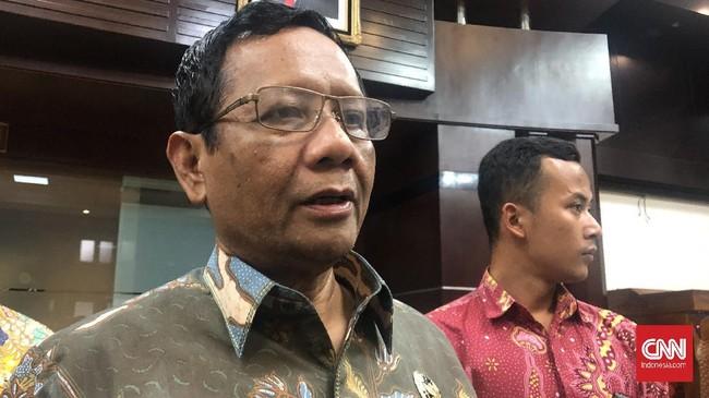 Mahfud MD Usul KPK Gabung SPPTI Cegah Kongkalikong Perkara