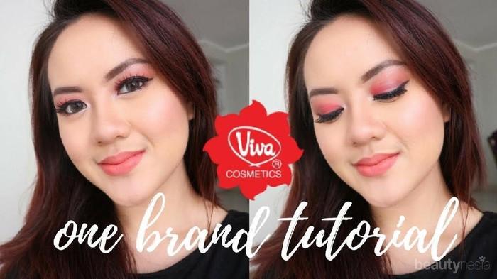 Ini Dia One Brand Makeup Tutorial dengan Produk Viva Cosmetics Ala Ratu Alifah yang Super Flawless
