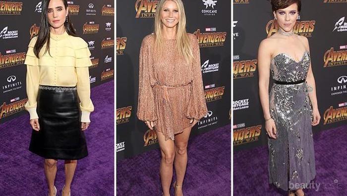 4 Selebriti Ini Tampil dengan Gaya Memukau di Red Carpet Premiere Avengers Infinity War
