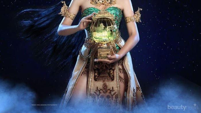 Bawakan National Costume Dewi Rengganis, Joleen Marie Siap Guncang Panggung Miss International 2019