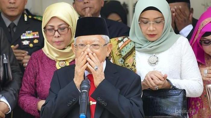Tas Tangan Istri Ma'ruf Amin yang Dikira Hermes Saat Pelantikan Presiden, Berapa Harganya?