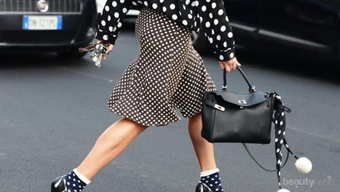 Biar Enggak Terlihat Norak, Ini Cara Gampang Memadukan Outfit Polkadot Biar Terlihat Kekinian