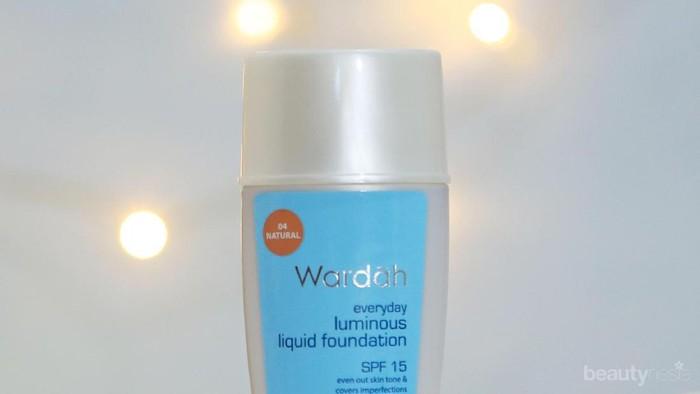 Cuma 35K, Wardah Luminous Liquid Foundation Bagus dan Tahan Lama Gak Sih?