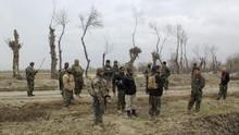 Tentara Australia Minum Bir dari Kaki Palsu Militan Taliban