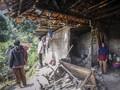 FOTO: Sejumlah Rumah Rusak Akibat Gempa Sukabumi