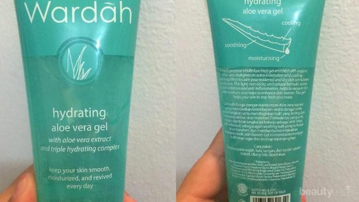 Cara Pemakaian Wardah Hydrating Aloe Vera Gel Untuk Kulit Berjerawat