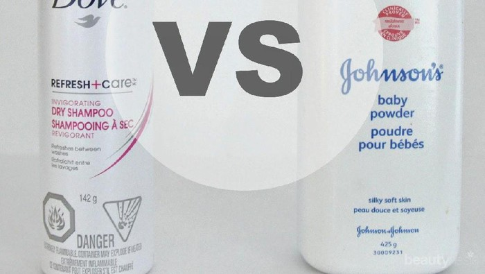 Bedak Bayi VS Dry Shampoo, Mana yang Lebih Oke Mengatasi Rambut Berminyak dan Lepek?