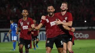 Jadwal Baru Bali United dan PSM di Piala AFC 2020