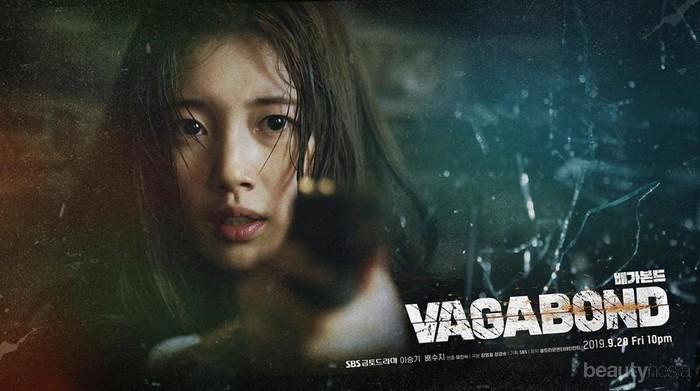 Gaya Cantik Suzy Pakai Kerudung di Drama Korea 'Vagabond' Curi Perhatian