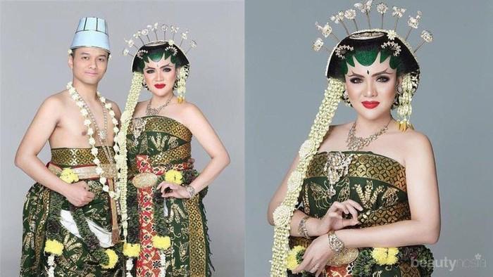 Tampak Ayu dan Anggun, 6 Artis Ini Memilih Pakai Paes Jawa di Hari Pernikahan