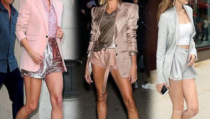 7 Padu Padan Celana Pendek dengan Blazer yang Sedang hits di Kalangan Artis Hollywood