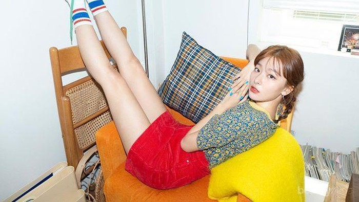 Kasual, Inspirasi Fashion Style ala Seulgi Red Velvet ini Menarik Kamu Terapkan