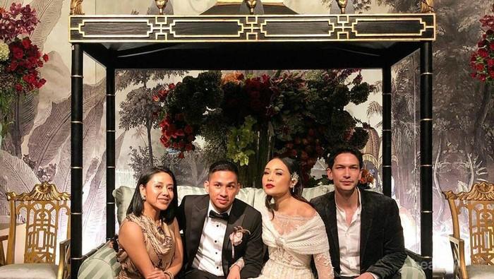 Hadir di Pernikahan Ayla Dimitri, Simak Beberapa Gaya Fashion Influencer Tanah Air